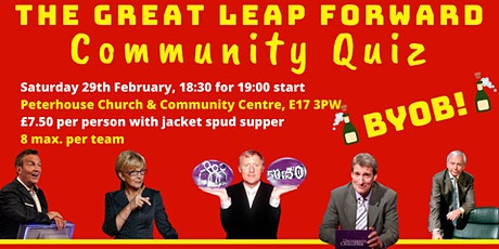 The Great 'Leap' Forward - community quiz tickets