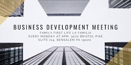Business Development meeting tickets