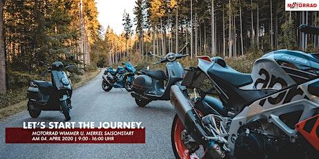 Saisonstart 2020 • Motorrad Wimmer u. Merkel Tickets