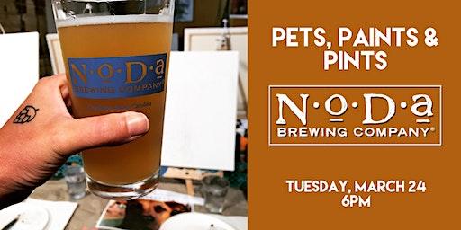 Pets, Paints & Pints at NoDa Brewing Company