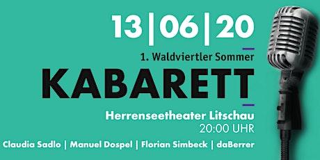 1. Waldviertler Sommerkabarett tickets