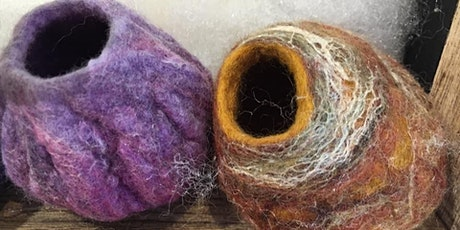 Learn how to make a felted pot tickets