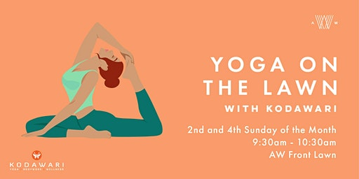 Yoga on the Lawn- January 26