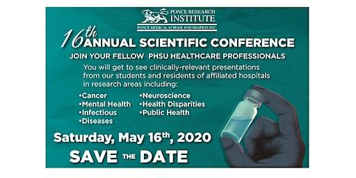16th Annual Scientific Conference