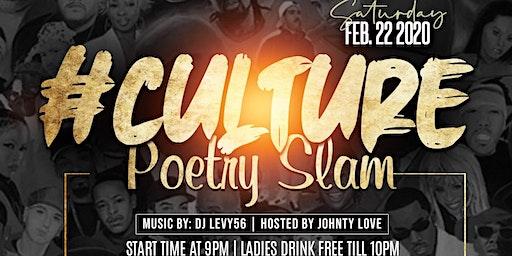 #Culture Poetry Slam