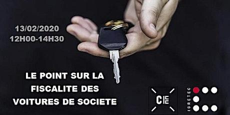 SESSION - LA FISCALITE DES VOITURES DE SOCIETE billets
