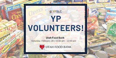 YP Volunteers at Utah Food Bank tickets