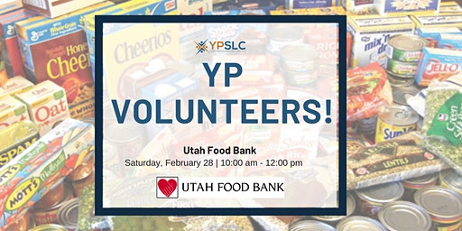 YP Volunteers at Utah Food Bank
