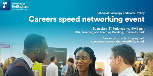 SSP Careers Speed Networking Event 2020
