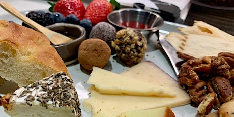 A Valentine's Day Dessert Board with Patty Bakes tickets