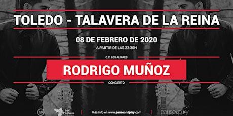Concierto Rodrigo Muñoz en Pause&Play Los Alfares entradas