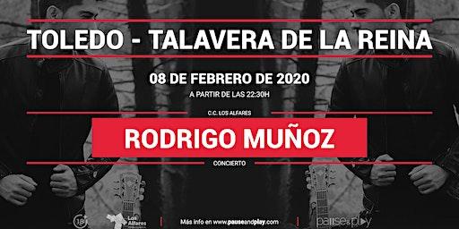 Concierto Rodrigo Muñoz en Pause&Play Los Alfares