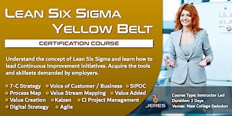 Lean Six Sigma Yellow Belt Training tickets
