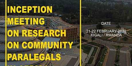 Research on Community Paralegals in Africa tickets
