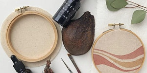 Natural Ink & Hoop Art Workshop