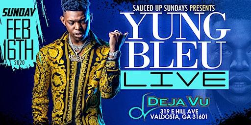 SAUCED UP SUNDAYS presents...YUNG BLEU LIVE !!!