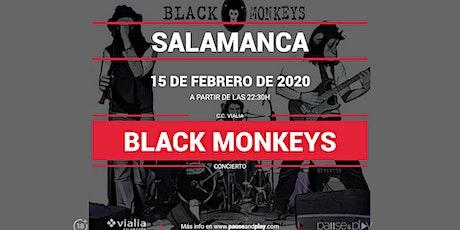 Concierto Black Monkeys en Pause&Play Vialia Salamanca entradas
