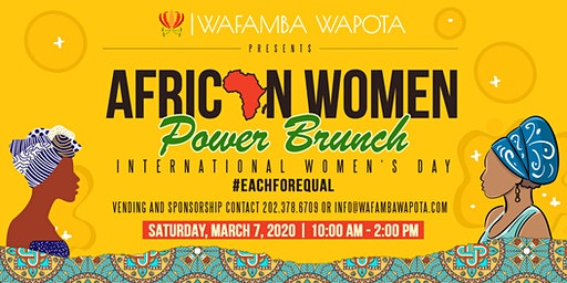 African Women's Power Brunch 2020