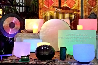 Sound Bath Meditation with Crystal Singing Bowls & More tickets