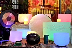 Sound Bath Meditation with Crystal Singing Bowls & More