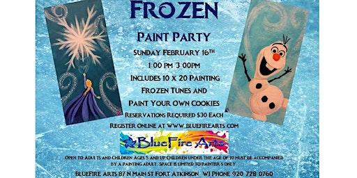 Frozen Paint Party