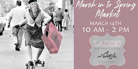 March into Spring Market tickets