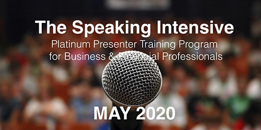 The Speaking Intensive May 2020
