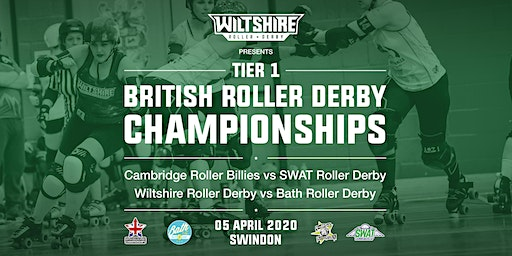 British Roller Derby Championships T1 South Game 1