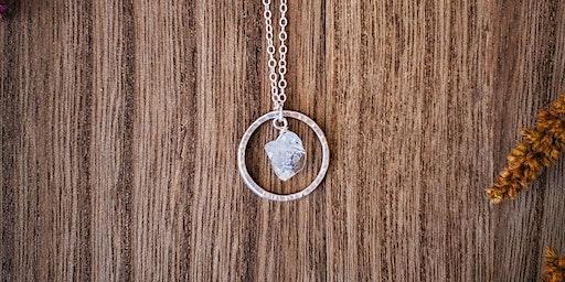 Sip & Silversmith- Necklace Making Workshop