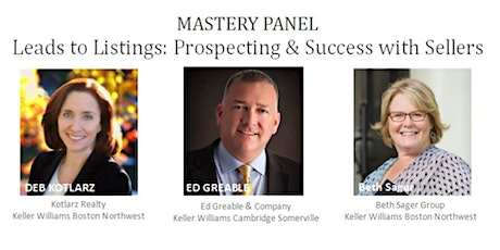 Monthly Mastery Series: LEADS TO LISTINGS: Prospecting & Success with Sellers tickets