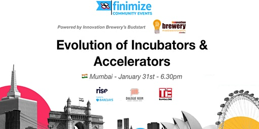 #FinimizeCommunity Presents: Evolution of Incubato