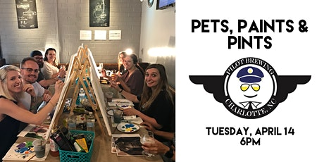 Pets, Paints & Pints at Pilot Brewing (NOW ONLINE) tickets