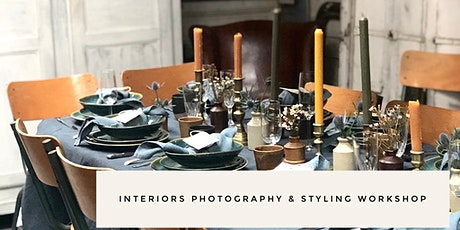 Interior Photography & Styling Workshop tickets