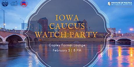 Iowa Caucus Returns Watch Party tickets