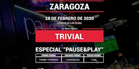 Trivial Especial Pause&Play en Pause&Play Puerto Venecia entradas