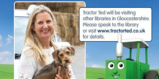Cheltenham Library - Tractor Ted