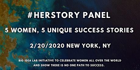 #HerStory Panel x New York, New York, USA tickets