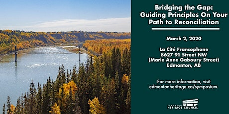 Bridging the Gap: Guiding Principles On Your Path to Reconciliation tickets