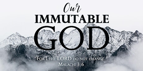 Our Immutable God - Praise and Prayer Night tickets