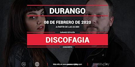 Concierto Discofagia en Pause&Play Durango entradas