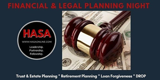 HASA Financial & Legal Planning Night