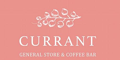 Currant + ConSōL : Sound Bath, Tea, and Meditation tickets