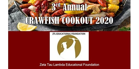 3RD ANNUAL ZTL EDUCATIONAL FOUNDATION  CRAWFISH COOKOUT tickets