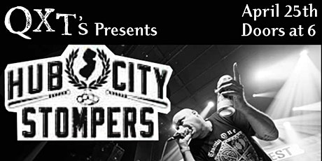 Hub City Stompers invades QXT's: Saturday, June 6th --- NEW DATE tickets