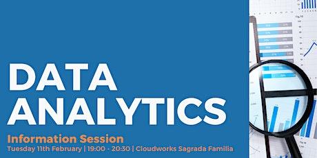 Data Analytics: Information Session entradas
