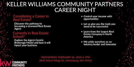 Keller Williams Community Partners Career Night