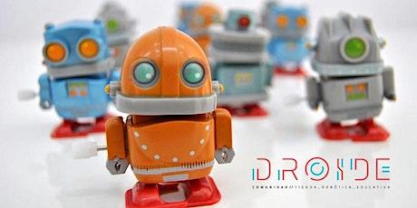 Taller gratuito de robótica con Lego WeDo entradas