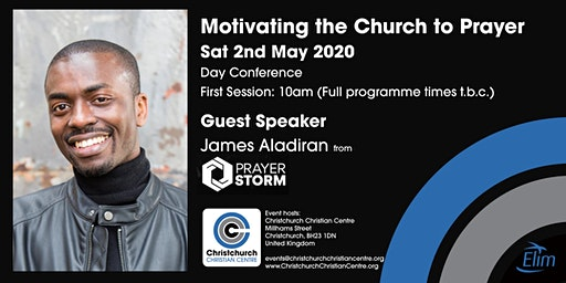 James Aladiran from Prayer Storm - Motivating the Church in Prayer!