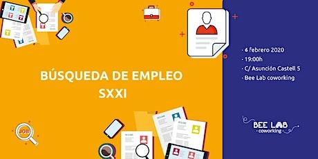 Búsqueda de empleo SXXI entradas