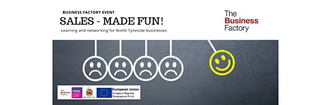 An Introduction to Sales – made fun! | Wednesday 26th February at 1pm tickets